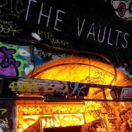 The Vaults graffiti tunnel Waterloo