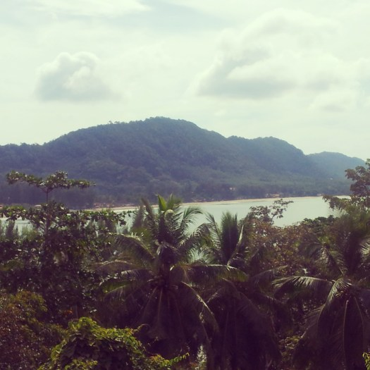 mountain view from Crown Lanta Resort