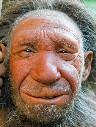 Neanderthal sculture