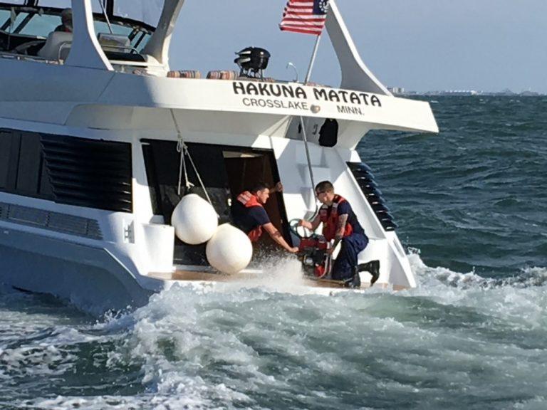 Coast Guard Saves Boat From Sinking Off Cape May WHYY