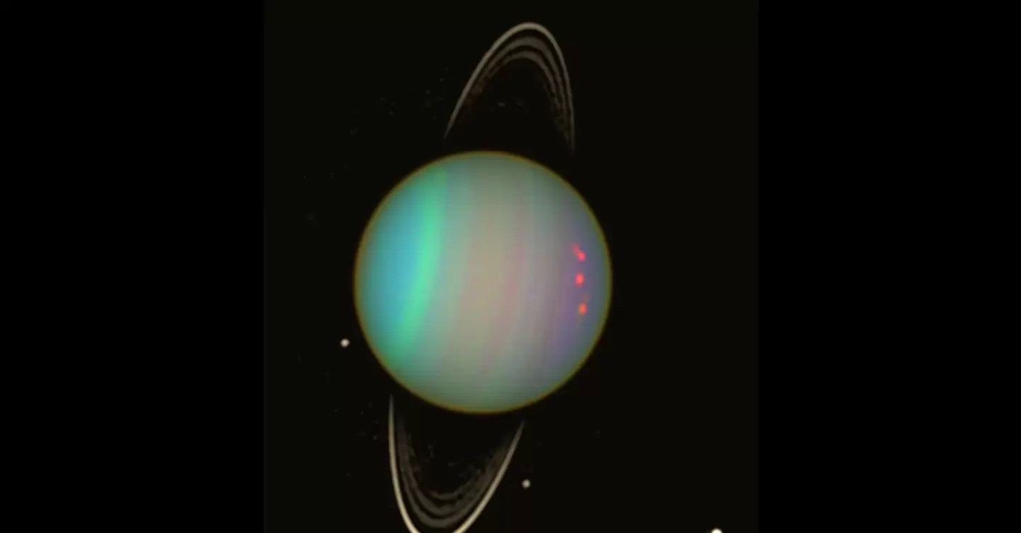 Uranus May Have Two Tiny New Moonlets In Its Orbit Wired Uk