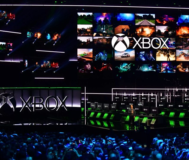 Microsofts E  Conference Shows That Xbox Is Sort Of Back Wired Uk