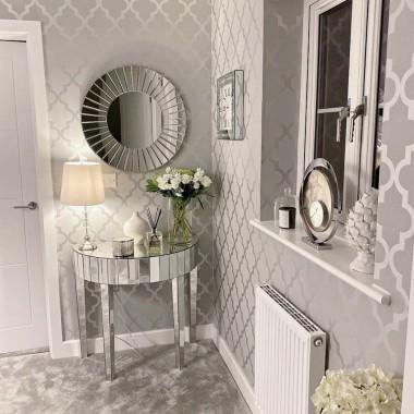 Grey Wallpaper Hallway Ideas 1024x1024 Download Hd Wallpaper Wallpapertip