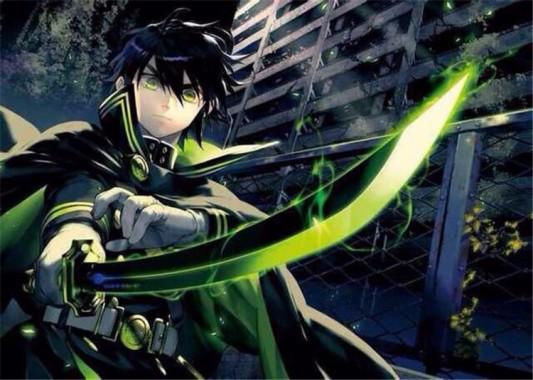 Black Hair Green Eyes Anime Boy 750x534 Download Hd Wallpaper Wallpapertip