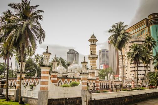 Mosque - w drodze do Dataran Merdeka
