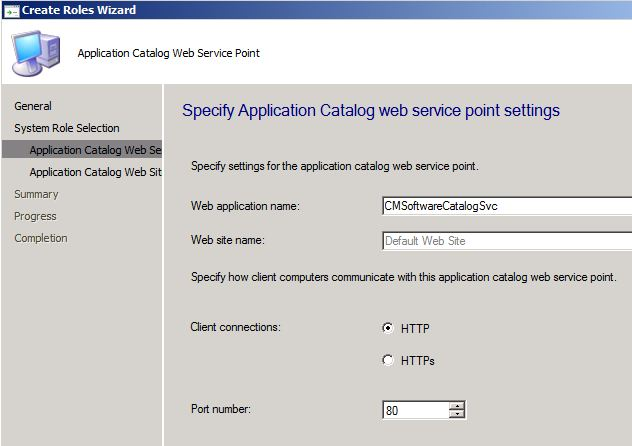 Software Center and Application Catalog in SCCM 2012
