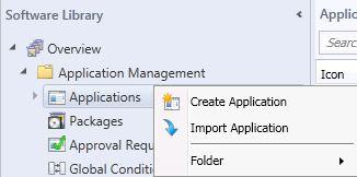 Create Application SCCM2012