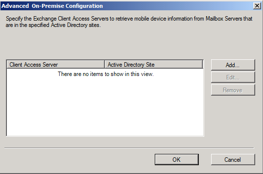 Exchange Advanded options