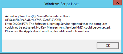 windows 7 kms activation issues