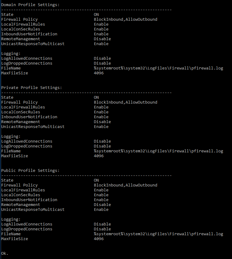 Server 2012 DirectAccess: Useful NETSH Commands