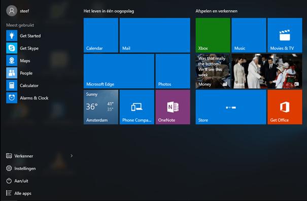 Windows 10 Original StartMenu - LayoutModification.xml