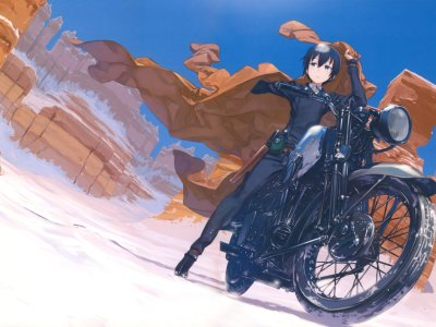 Manga Kino's Journey Telah Berakhir Di Majalah Dengeki Daioh 9