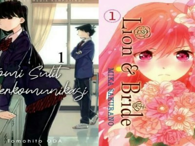 """Elex Media Merilis Manga """"Komi Sulit Berkomunikasi"""" Dan """"Lion & Bride"""" 18"""