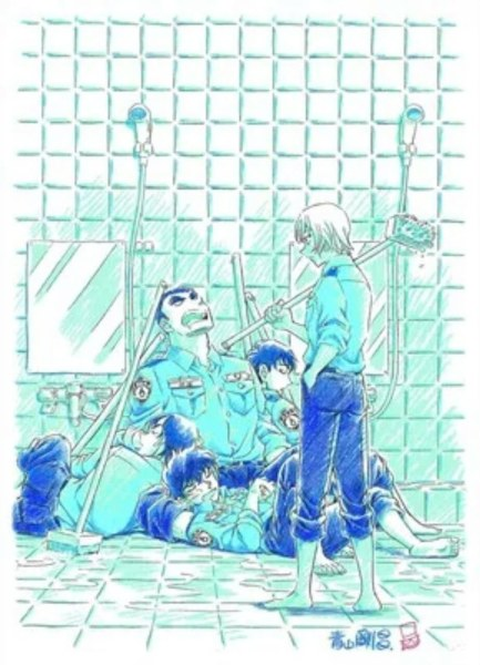 Manga Spinoff Detective Conan Police Academy Dapatkan Arc Baru 1