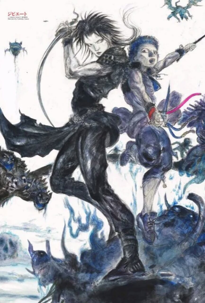 Yoshitaka Amano Menggambar Visual Baru Untuk Anime Gibiate 2
