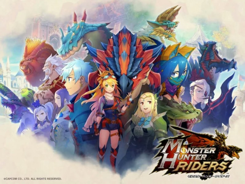 Game Smartphone Monster Hunter Riders Akan Diluncurkan Pada Bulan Februari 1