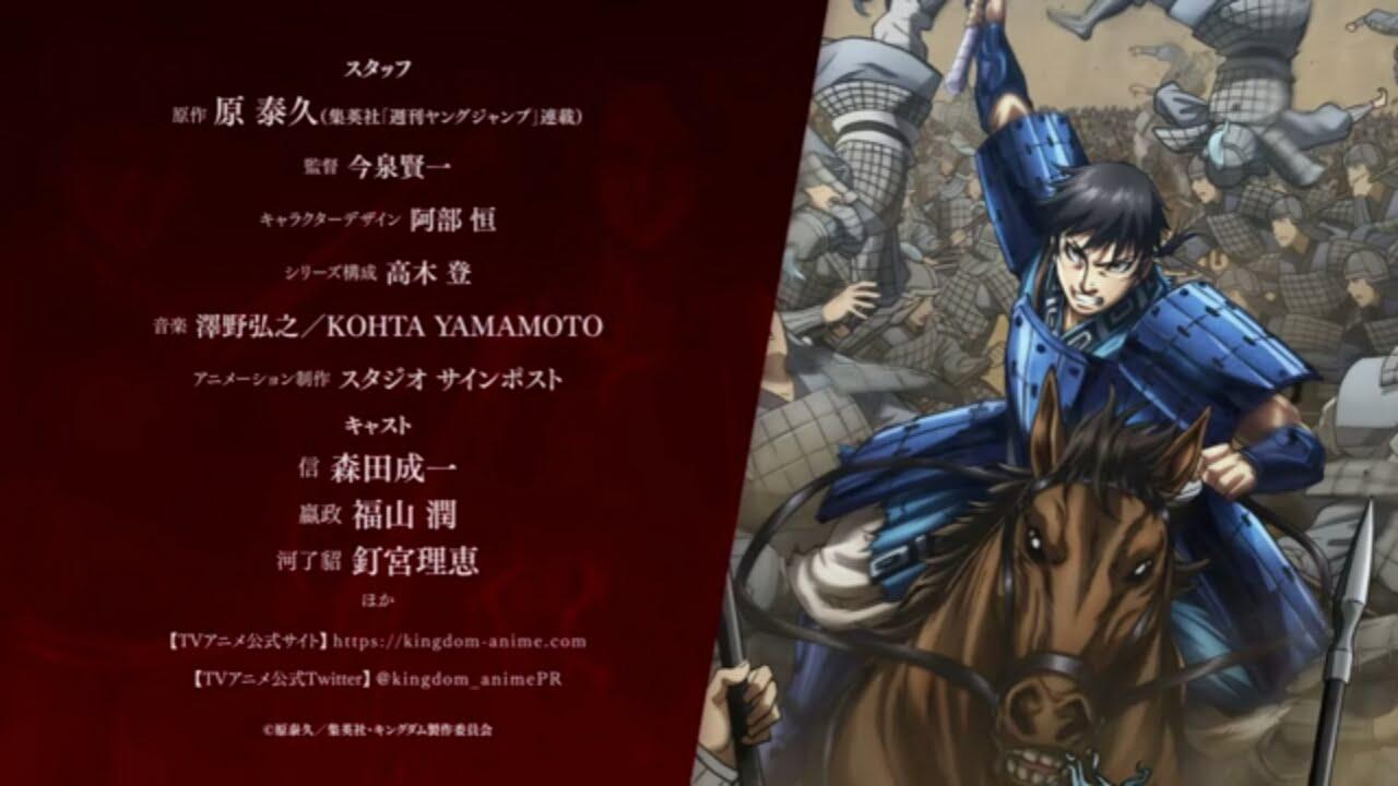 Video Teaser Season Ke-3 Anime Kingdom Dirilis, 3 Anggota Seiyuu Lainnya Terungkap 1