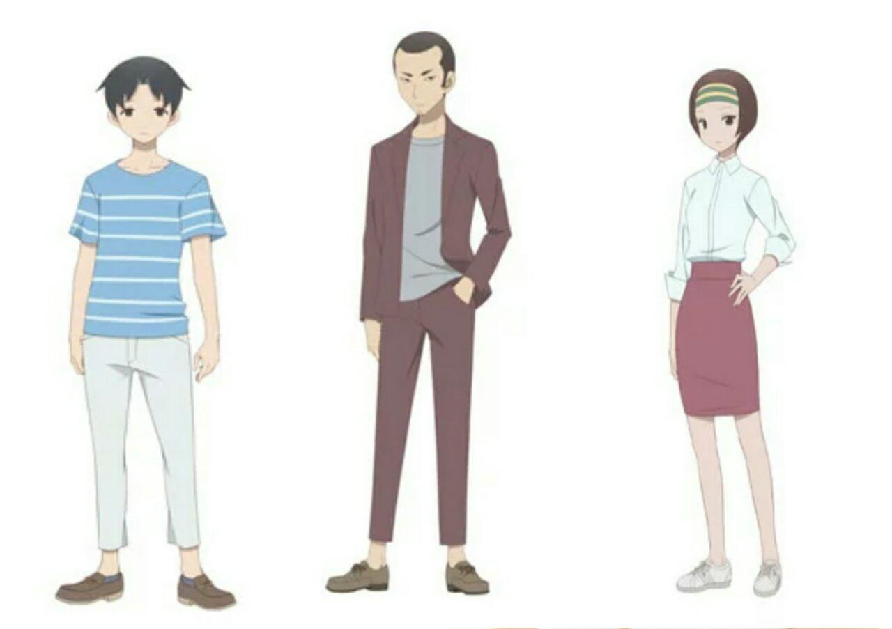 Anime Kakushigoto Diperankan oleh Natsuki Hanae, Rikiya Koyama, Manami Numakura 1