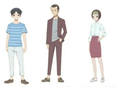 Anime Kakushigoto Diperankan oleh Natsuki Hanae, Rikiya Koyama, Manami Numakura 32