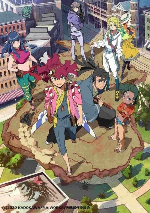 Anime Appare-Ranman! Garapan P.A. Works Ungkap Seiyuu Lainnya dan Tanggal Debutnya 2