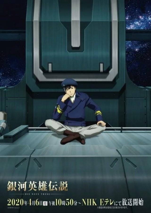 Anime Legend of the Galactic Heroes: Die Neue These Second Dapatkan Penayangan TV pada Bulan April 2