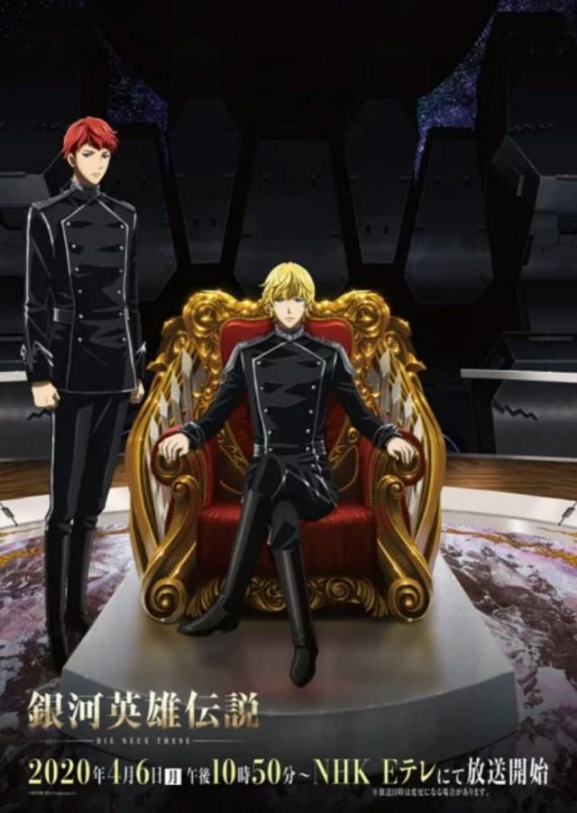 Anime Legend of the Galactic Heroes: Die Neue These Second Dapatkan Penayangan TV pada Bulan April 3