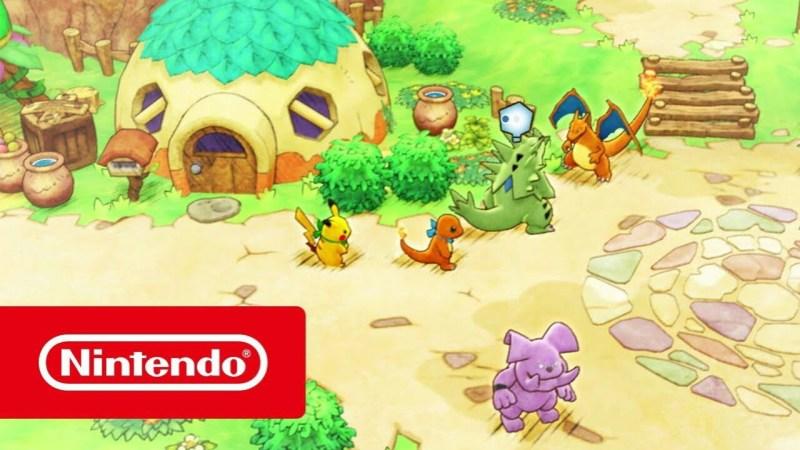 Trailer dari Game Pokémon Mystery Dungeon: Rescue Team DX untuk Switch Perlihatkan Gameplay 1
