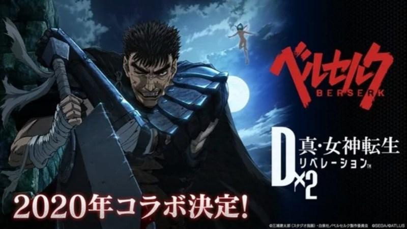 Game Smartphone Dx2 Shin Megami Tensei akan Berkolaborasi dengan Berserk 1