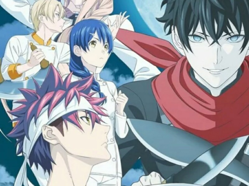 Season Kelima Anime Food Wars! Shokugeki no Soma Ungkap Tanggal Tayangnya 1