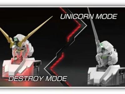 Gunpla Gundam Unicorn Baru Dapat 'Bertransformasi' Sendiri 40