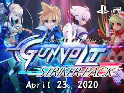 Azure Striker Gunvolt: Striker Pack Dapatkan Rilisan Fisik untuk PS4 di Barat 4