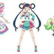 Anime Kiratto Pri☆Chan Diperankan oleh Nanami Yamashita, Nichika Omori, Minami Tanaka 46