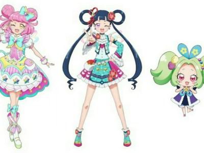 Anime Kiratto Pri☆Chan Diperankan oleh Nanami Yamashita, Nichika Omori, Minami Tanaka 12