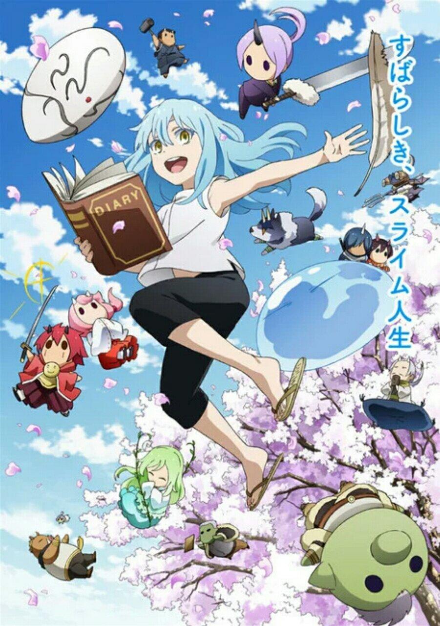 """Anime """"Tensei Shittara Slime Datta Ken"""" Dikonfirmasi Akan Rilis Dengan Dua Cour. 3"""