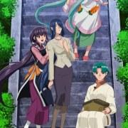 Season Ke-5 OVA Tenchi Muyo! Diperankan oleh Kikuko Inoue, Aya Hisakawa, Nana Mizuki, Mariko Suzuki 9