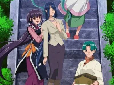 Season Ke-5 OVA Tenchi Muyo! Diperankan oleh Kikuko Inoue, Aya Hisakawa, Nana Mizuki, Mariko Suzuki 2