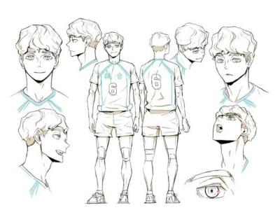 Anime Haikyu!! To The Top Diperankan oleh Yū Miyazaki sebagai Sachirō Hirugami 9