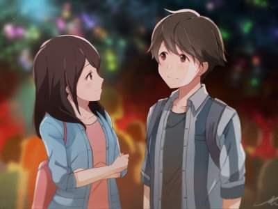 Tsuki ga Kirei : Cinta Sederhana yang Berakhir Bahagia 21