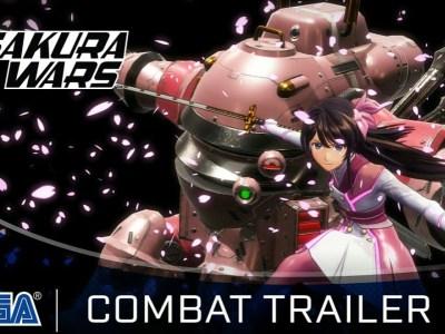 """""""Combat Trailer"""" Game Sakura Wars Baru Diluncurkan 11"""