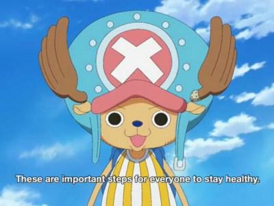 Kru One Piece Memberitahumu untuk Mencuci Tanganmu 52
