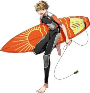 3 Menit Pertama dari Film Anime WAVE!! Surfing Yappe!! Pertama Diperlihatkan 2