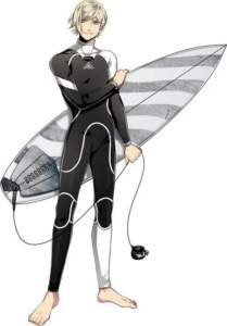 3 Menit Pertama dari Film Anime WAVE!! Surfing Yappe!! Pertama Diperlihatkan 3