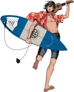 3 Menit Pertama dari Film Anime WAVE!! Surfing Yappe!! Pertama Diperlihatkan 4