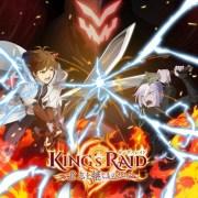 Apilkasi RPG Fantasi Asal Korea Berjudul King's Raid Dapatkan Anime TV Para Musim Gugur 15