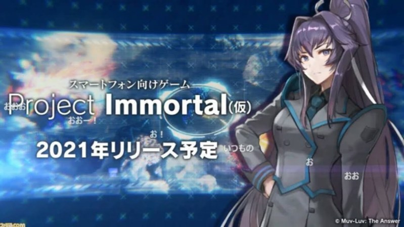 Game Smartphone 'Project Immortal' dari Franchise Muv-Luv Akan Dirilis Tahun 2021 1