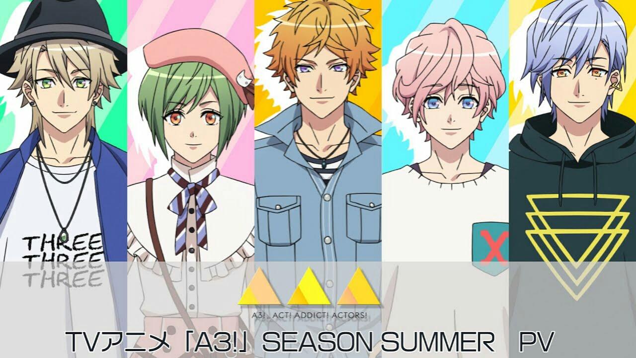 Anime A3! 'Season Summer' Dipratinjau Dalam Video Baru 1