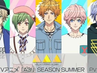 Anime A3! 'Season Summer' Dipratinjau Dalam Video Baru 25