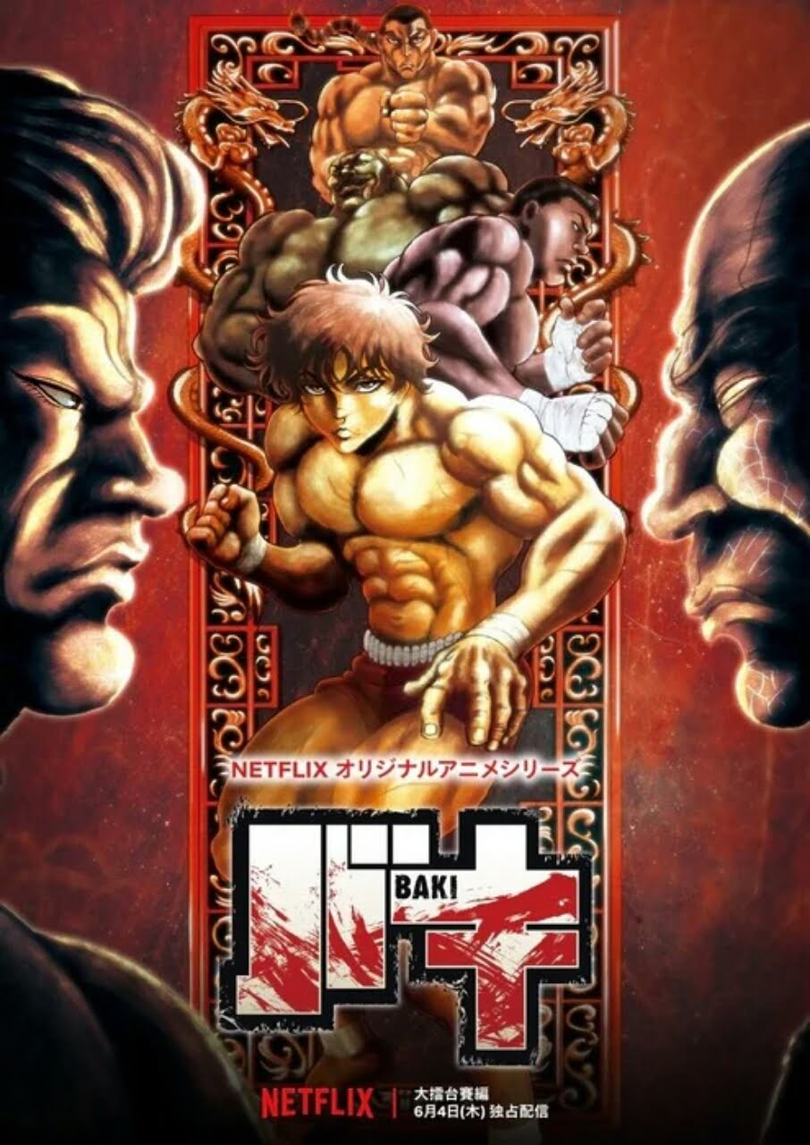 Trailer Anime Baki Season 2 Menyoroti Raitai Tournament, Pratinjau Cerita 1