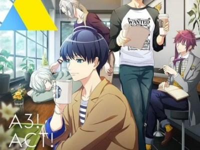 Anime A3! Season Autumn & Winter Ungkap Pembaruan Staf, Tanggal Debutnya, Visual Winter Troupe 22