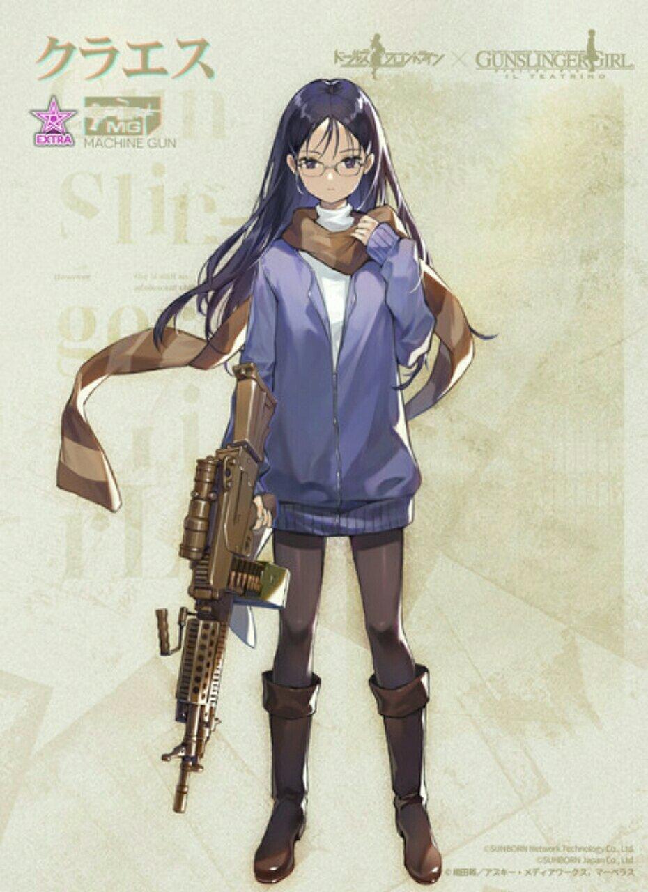 Para Gadis Senjata Api Saling Bertemu Dalam Kolaborasi Game Smartphone Girls' Frontline dengan Gunslinger Girl 10